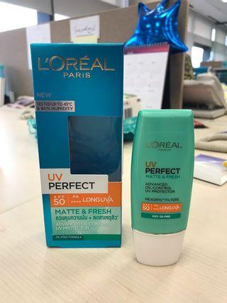 Loreal UV Perfect Matte & Fresh SPF 50/PA++++