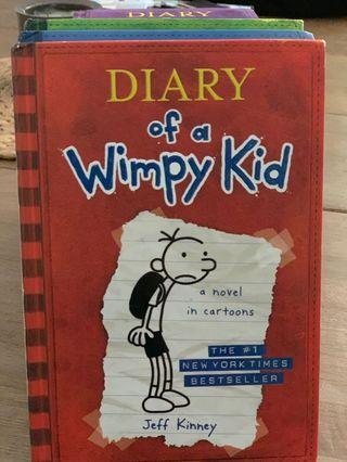 🚚 Diary Of A Wimpy Kid -Series