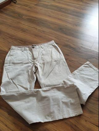 H&M mens button fly pants