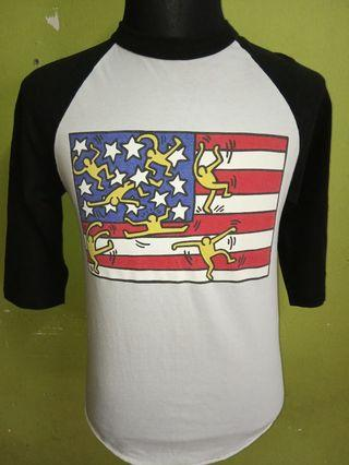 3Q obey X Keith haring