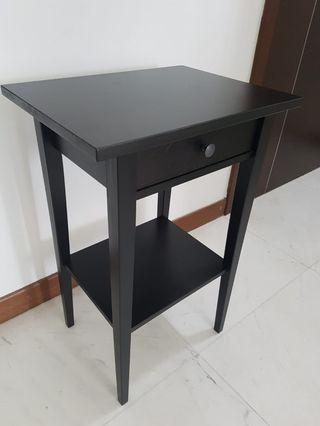 Pristine Hemnes bedside table