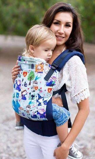 Tula Baby Carrier Std with infant insert