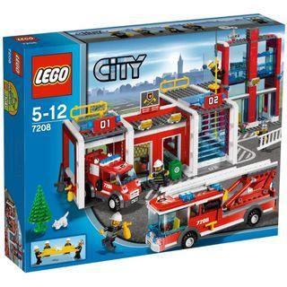 LEGO City Fire Station 7208