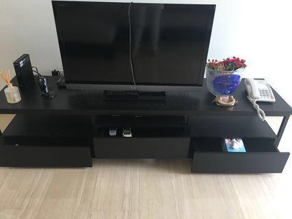 TV Console with TV