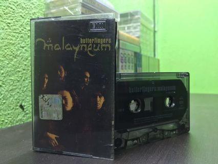 Butterfingers - Malayneum Cassette / Kaset