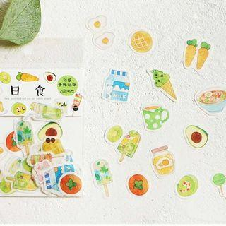 [PO] food sticker set