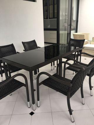 Outdoor Furniture - Dining Set