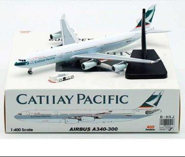 1/400 Aviation 400 CATHAY PACIFIC AIRWAYS A340-300 B-HXJ