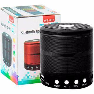 WS-887 Bluetooth Speaker Mini Bluetooth Sound Box Wireless portable bluetooth speaker TF-card supported
