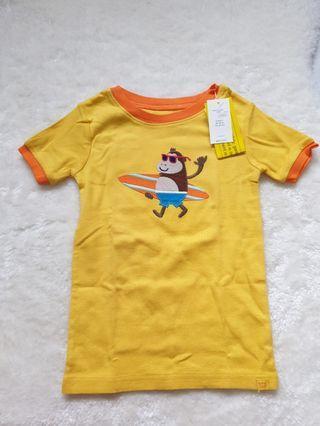 Yellow boy's tee 3 yrs ( baby gap)