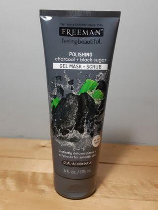 Freeman Charcoal Gel Mask + Scrub #ramadansale