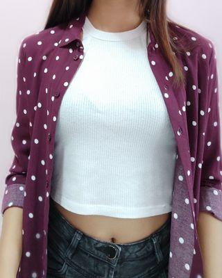 🚚 Polka Dotted Flannel