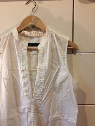 Zara White Tunic Dress / Top