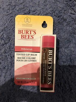 Burt Bees tinted lip balm
