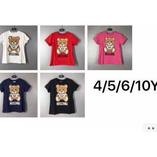 Moschino 童装短袖T恤 多色 (WEEC)