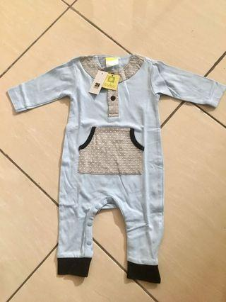 NEW WITH TAG EYKA JUMPSUIT BAYI NB