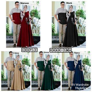 Set setelan stelan st couple cp KHARISMA