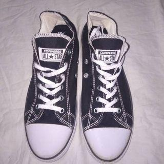 #BAPAU Sepatu Converse All Star ox Black