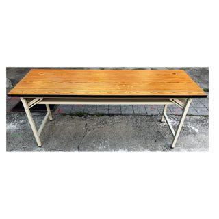 【吉旺二手傢俱生活館】二手/中古 折合會議桌 主管桌 OA辦公桌 洽談桌 實木書桌 -各式新舊/二手家具 生活家電買