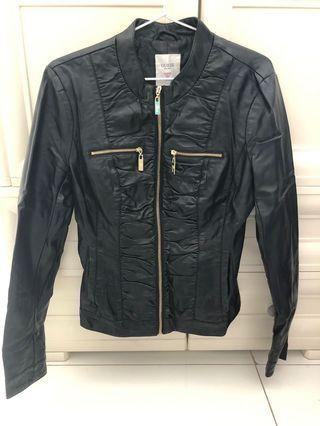 Guess vegan leather jacket size S