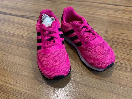 Kasut raya! Adidas Originals shoe for kids 3y/o - 4y/o (estimate)