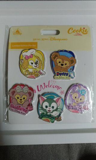 迪士尼徽章 Disney pin