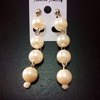 #BAPAU Imitation Pearl Earrings