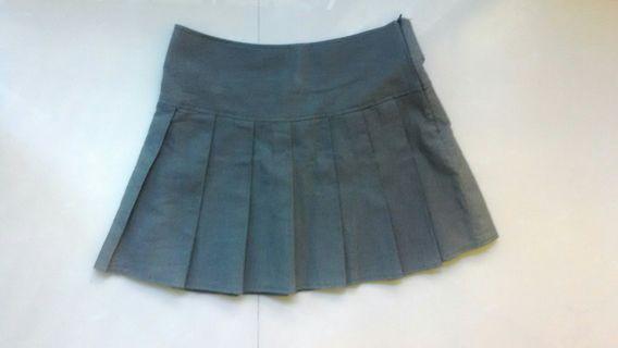 plaited skirt