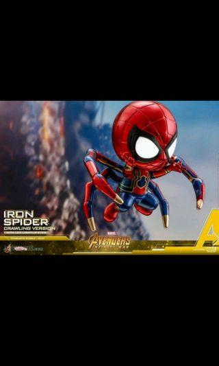 Iron Spider (Crawling Version) Cosbaby With Light-up Function