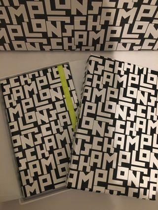 Longchamp new notebook gift
