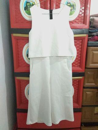 #BAPAU White Jumpsuit