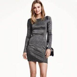H&M Glittery Dress