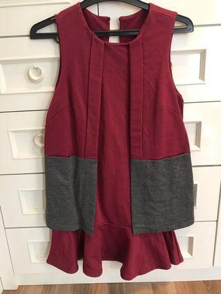 #BAPAU xsml biyan mini dress