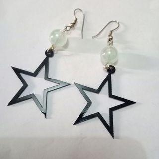 #BAPAU Hanging Star Earrings