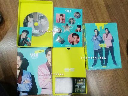 Wooseok X Kuanlin 1st Mini Album 9801