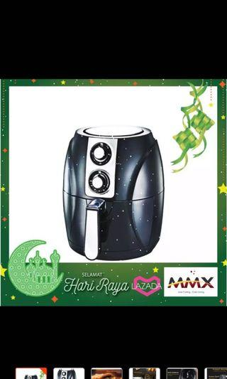 MMX 3.8L Healthy Air Fryer Oil Free With Malaysia 3-Pin Plug 1400w
