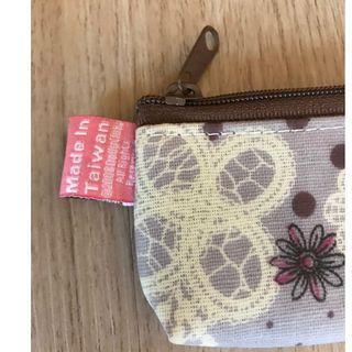 紫色碎花筷袋 臺灣製 防水材質