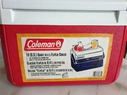 Coleman FlipLid cooler for sale!