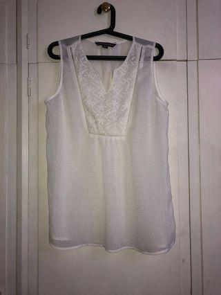 White Beach Top (loose fitting)