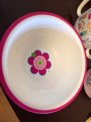 Toddler cup and bowl