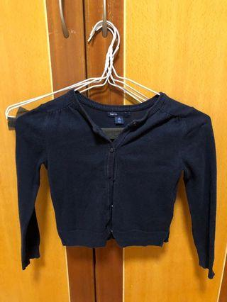 Navy cardigan cotton