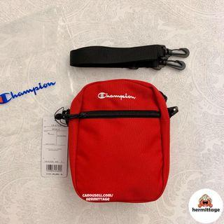 [BNWT, AUTHENTIC] Champion Shoulder Sling Bag (RED)