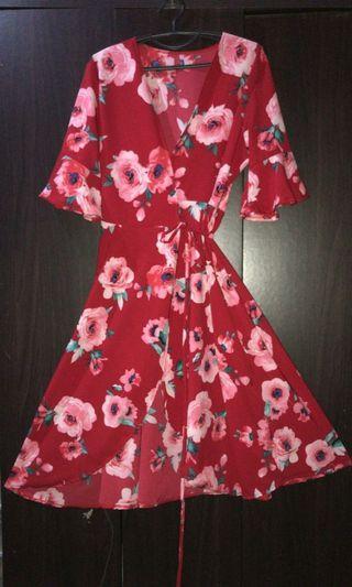 BN Wrap Around Dress