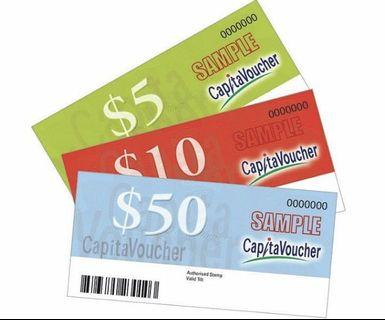 Capita vouchers for sales!! $330 worth!! Fast deal!