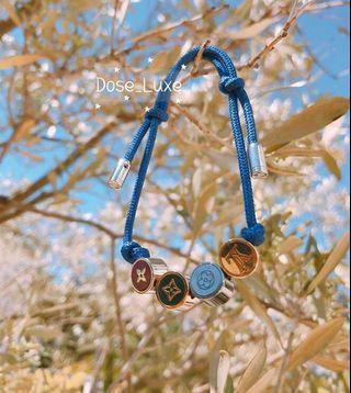 🚚 LV Louis Vuitton M68263 Colors釘珠手鏈手鐲手飾