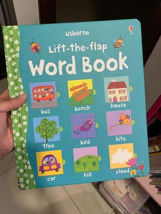 Usborne Lift The Flap Word Book
