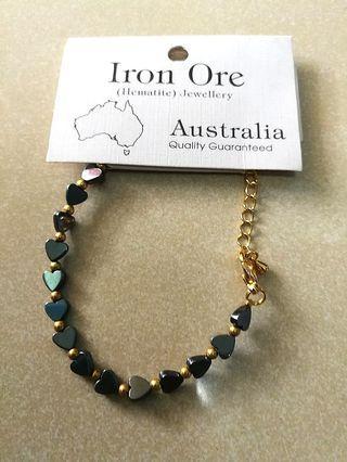 (Brand New) Iron ore bracelet
