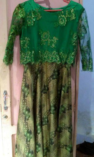 #BAPAU Dress Brukat kebaya
