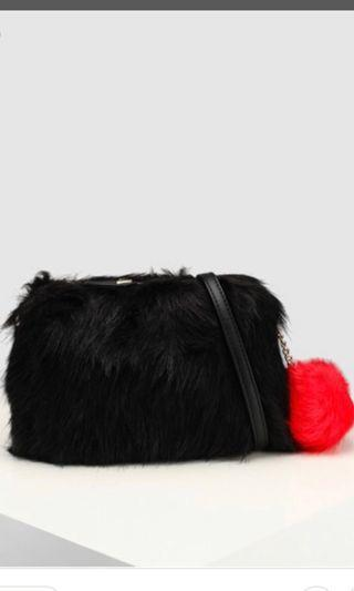 GUESS FUR BAG