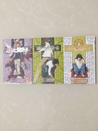 🚚 Death Note (Vol 2, 5, 6)